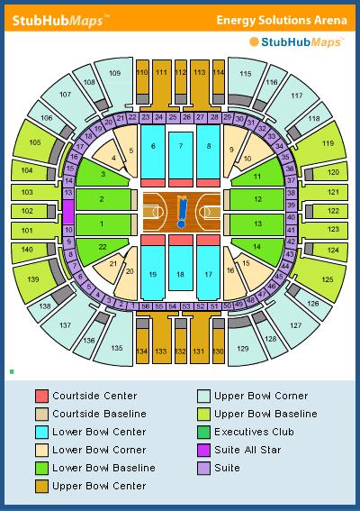 esa seating chart
