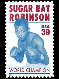 39 Cent Stamp Honors Sugar Ray Robinson