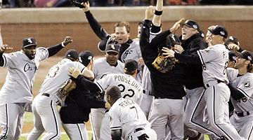 White Sox celebration