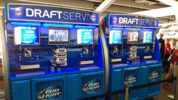 Self-serve beer stations make debut | abc7 com