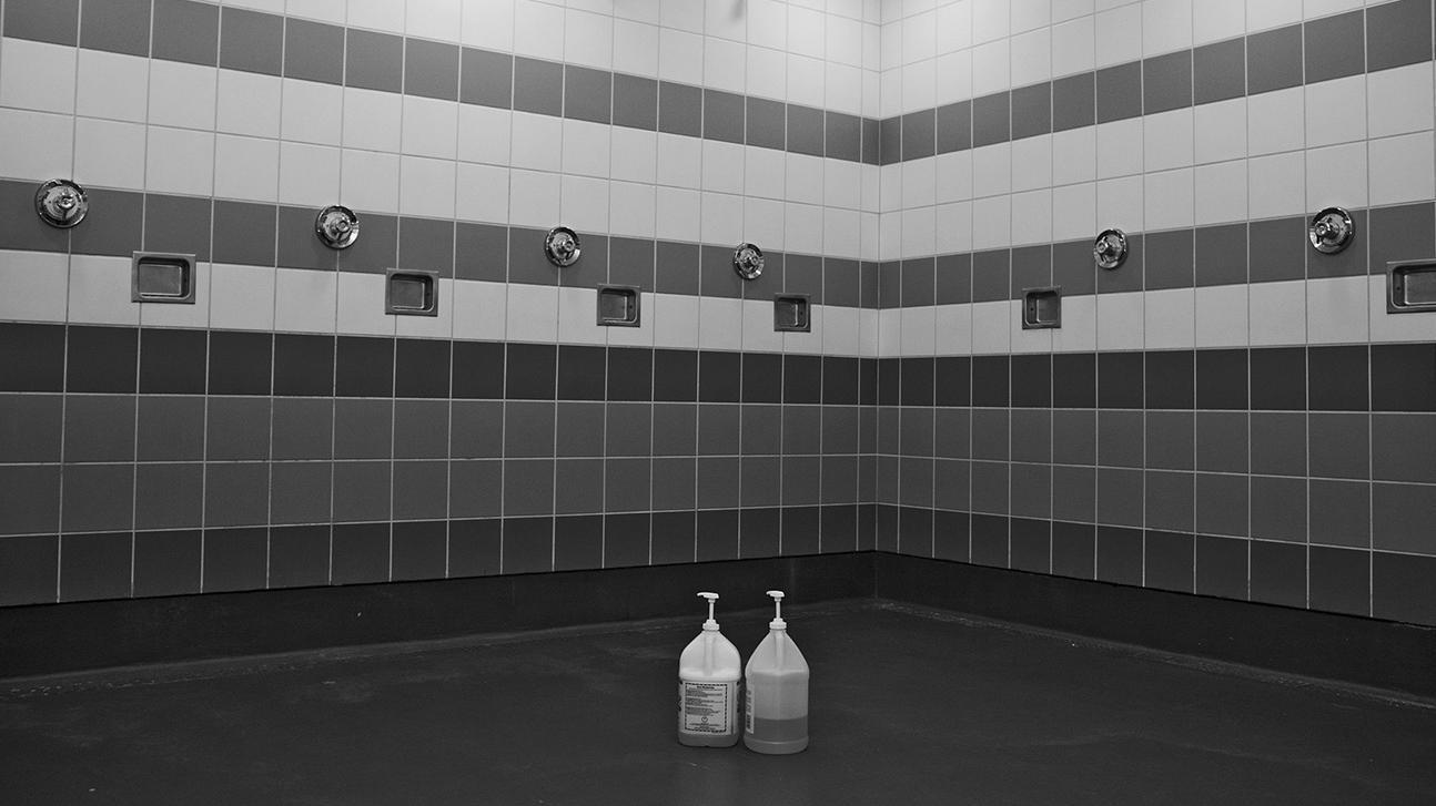 men s locker room nude naked showers