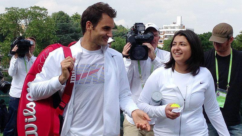 My Wish 2013: Roger Federer