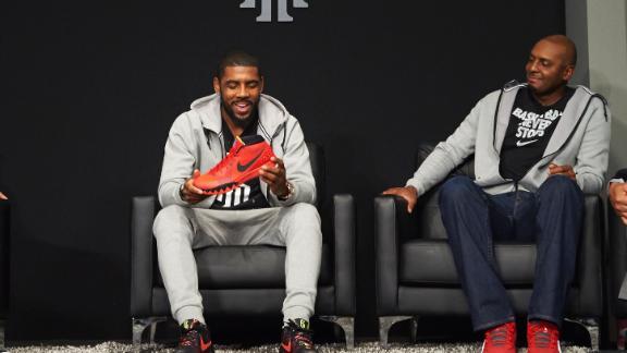 18cc82ca881 Nike unveils Kyrie Irving shoe