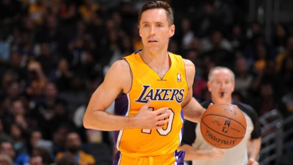Steve Nash of Los Angeles Lakers announces retirement - ESPN Los Angeles