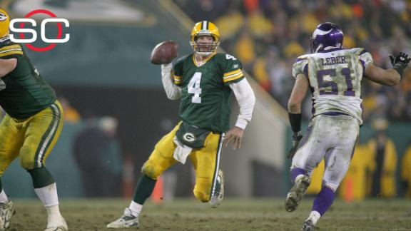 0b148c6211d Brett Favre's number to be retired by Packers on Thanksgiving night ...