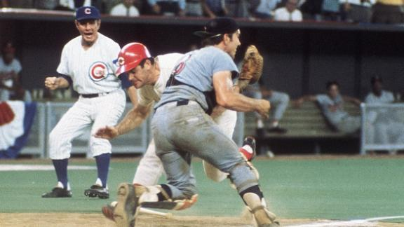 The place where Ray Fosse and Pete Rose collide - ABC7 San Francisco