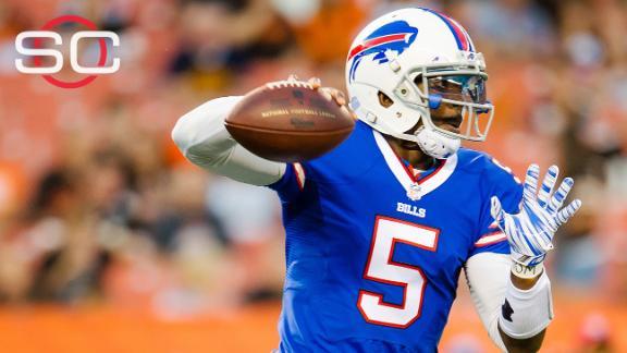 6aa653b86aa Tyrod Taylor to open season as Bills  starting quarterback
