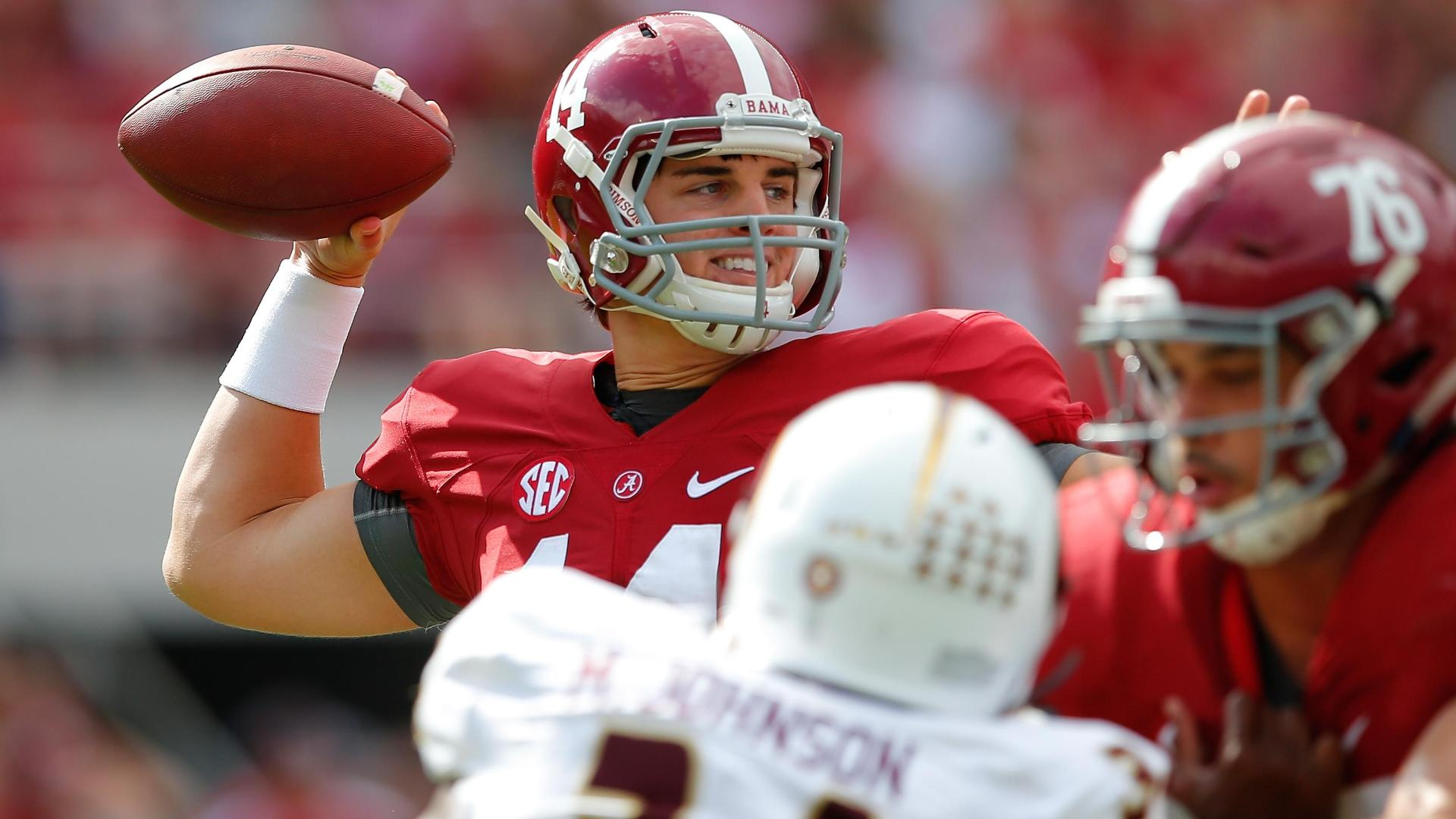 Crimson Tide's streak of 72 straight games as favorite in ...