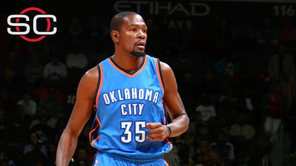 75b54fc299ed Kevin Durant to miss at least 7-10 days with hamstring strain ...