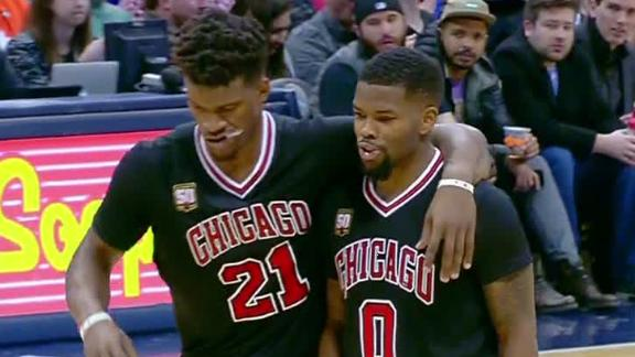 Bulls Hoping Jimmy Butler Injury To Left Knee Only A Sprain Abc13 Com