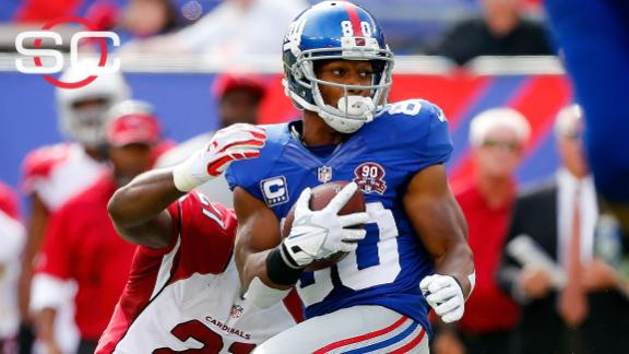 1aac3825e Giants WRs to honor 9 11 anniversary with patriotic cleats · Source  Giants  demand reworked contract for Victor Cruz