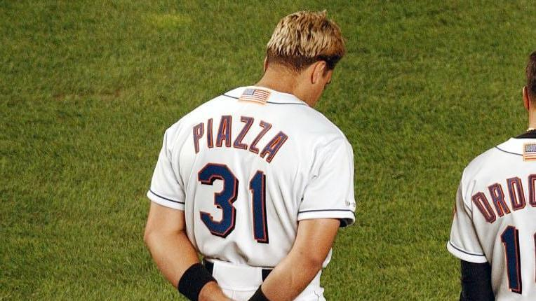 2f6cc4615 Mets admit mistake in selling 9/11 jersey worn by Mike Piazza