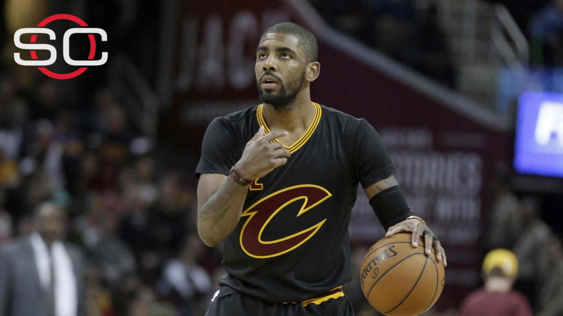 0ac617e2c064 Cavs  Kyrie Irving   Just crazy to think that we re still in first ...