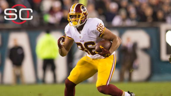 e6d19793066 Redskins sign TE Jordan Reed to five-year, $50M extension | abc11.com