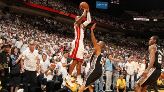 Ray Allen's clutch three for Heat in Game 6