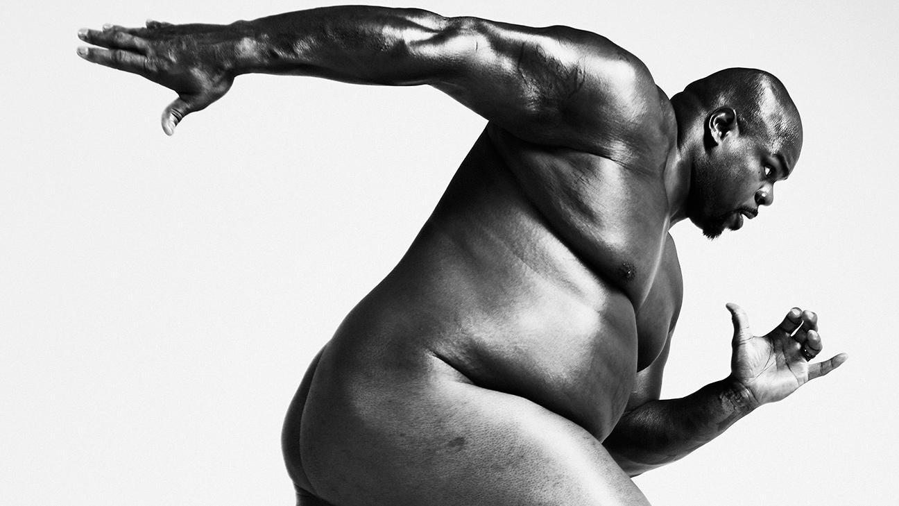 Look back at Wilfork's Body Issue shoot