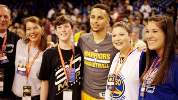 My Wish: Steph Curry grants Ashley's selfless wish