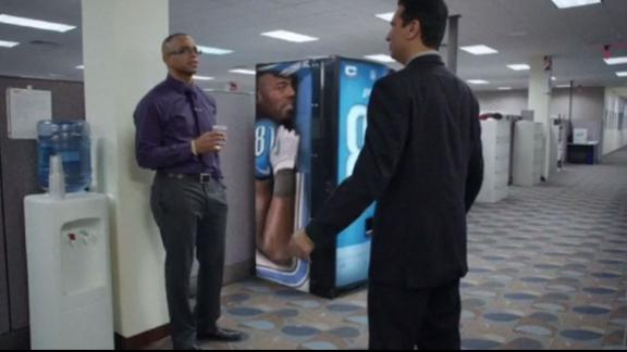 This is SportsCenter: Soda Machine