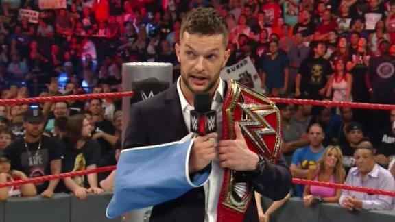 Shoulder injury forces Finn Balor to relinquish WWE