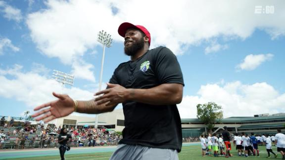 Michael Bennett's camp putting the fun back in football