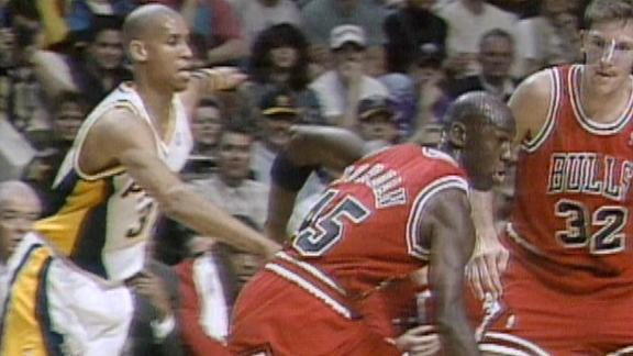 On this date: MJ's return game