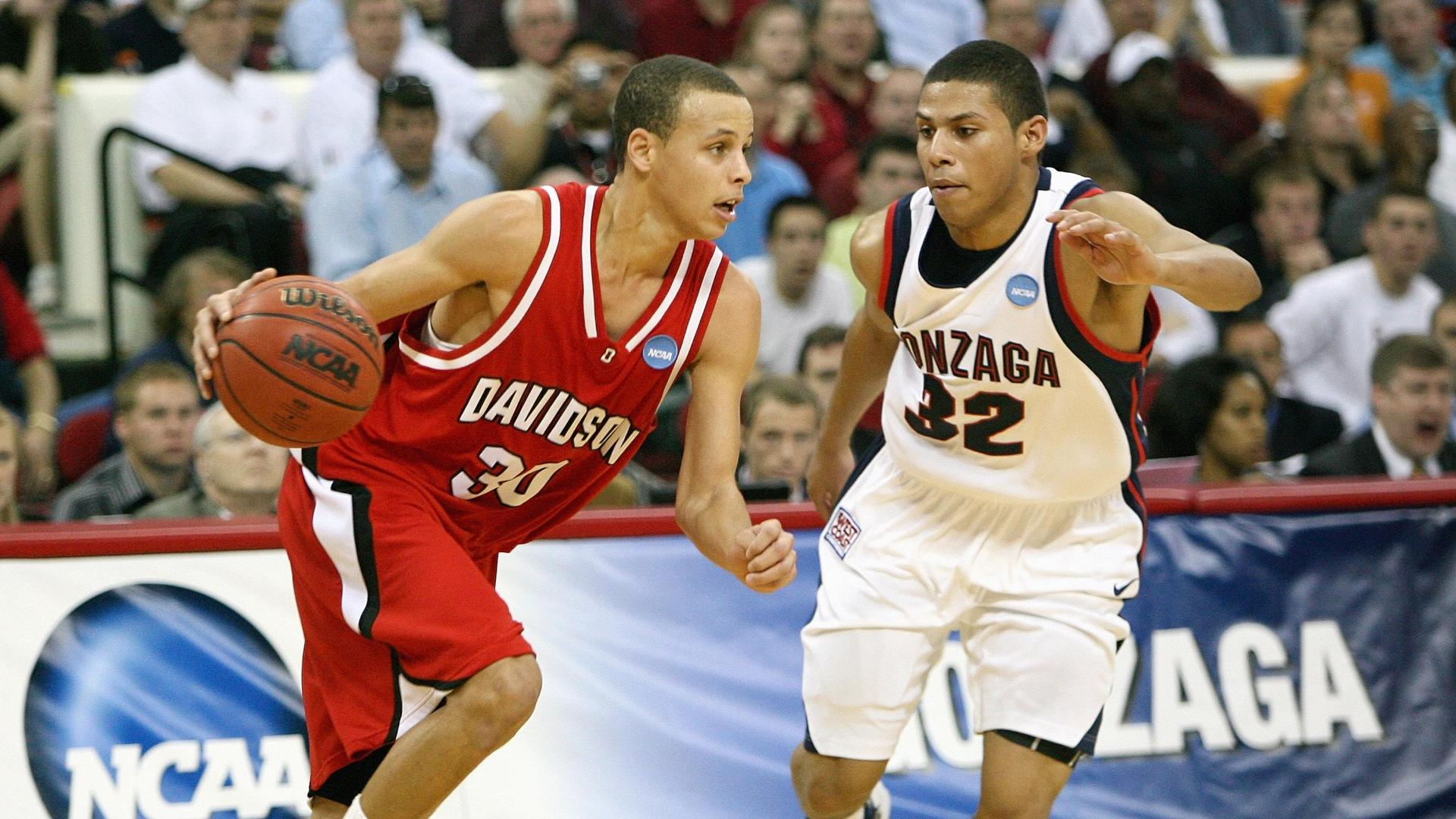 On this date: Curry drops 40 on Gonzaga