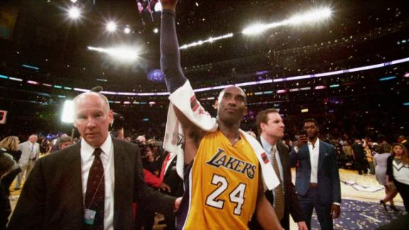 All-access look at Kobe's last game