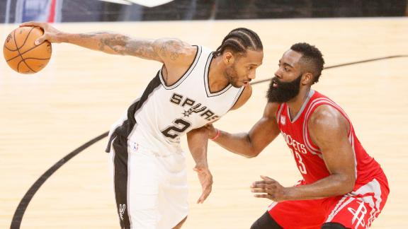 1f6b33a71d49 Six big questions for the Spurs-Rockets heavyweight clash