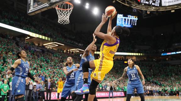 Remembering Nneka Ogwumike's championship shot