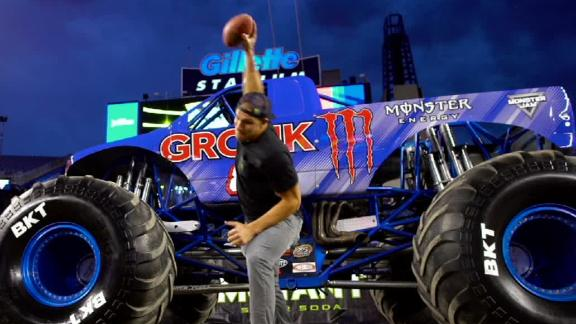 "The world's first ""Gronkster"" truck"