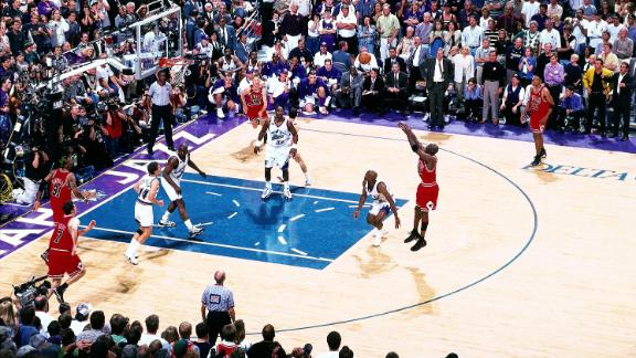 Reliving MJ's last shot as a Bull