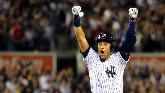 Derek Jeter thrived in clutch moments