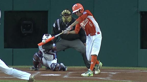 Texas jumps out to early lead with three-run homer