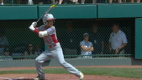 Japan's captain goes deep to take early lead