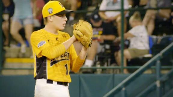 North Carolina making pitching history at LLWS