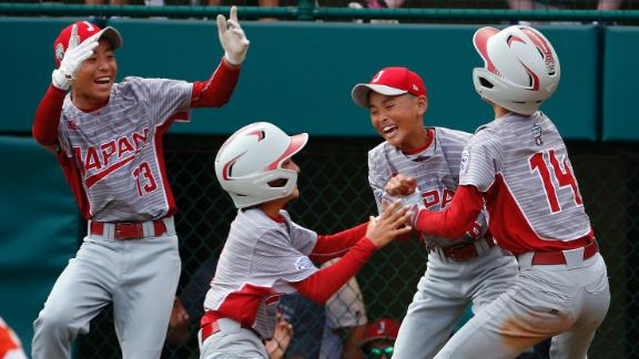 Japan pours on offense in LLWS final