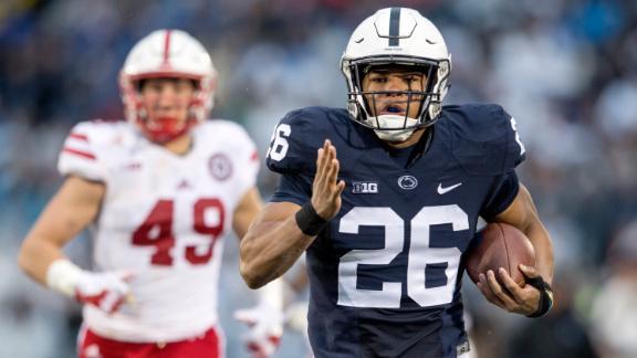 0ea484e0f Saquon Barkley sets Penn State TD record in win over Nebraska