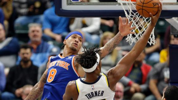 0addf9e830f Thaddeus Young scored 20 to help Pacers rout Knicks 115-97 | abc7ny.com