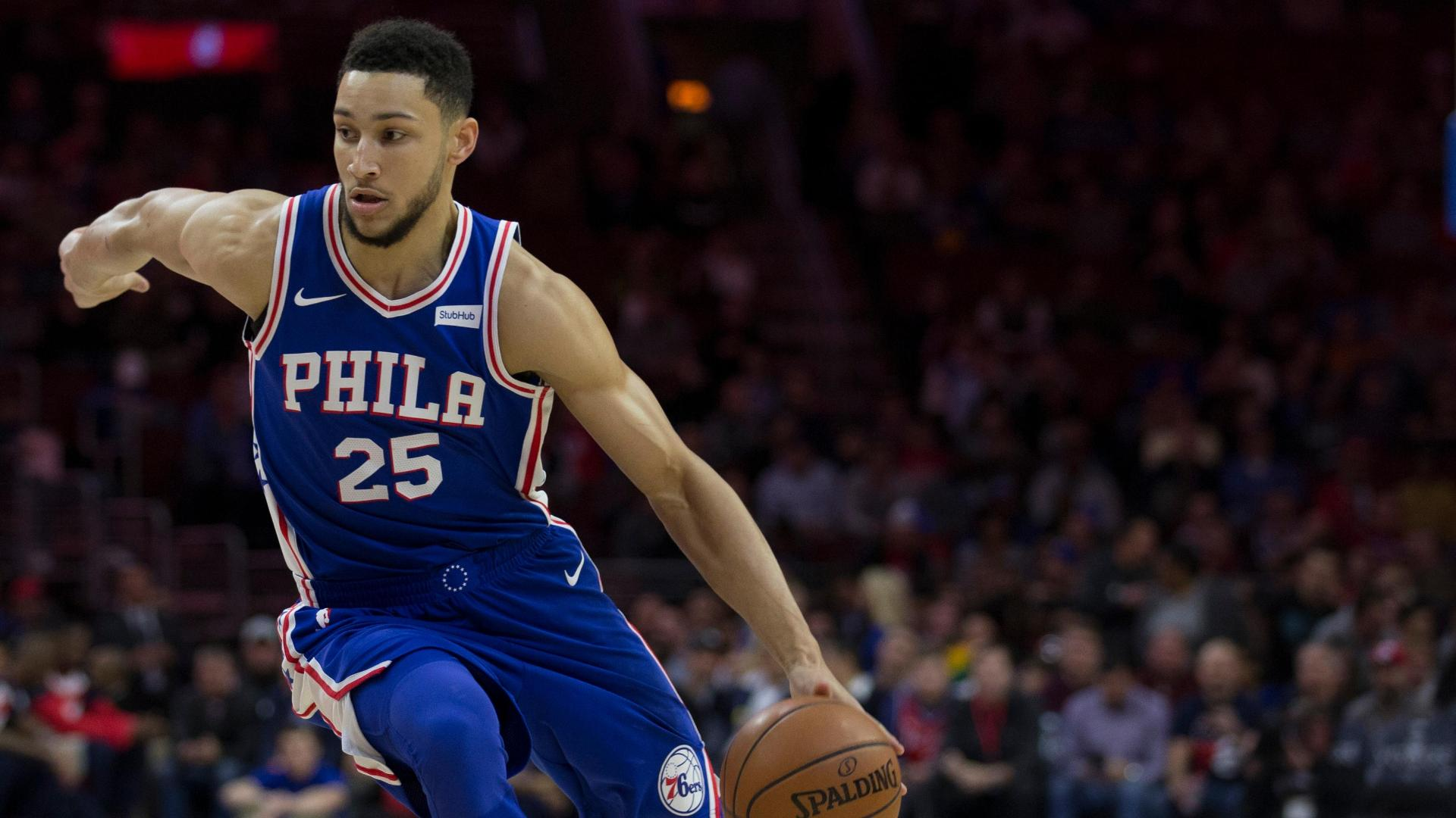 4c7f4b93a5a1 You ll never believe the oblong ball behind Ben Simmons  genius ...