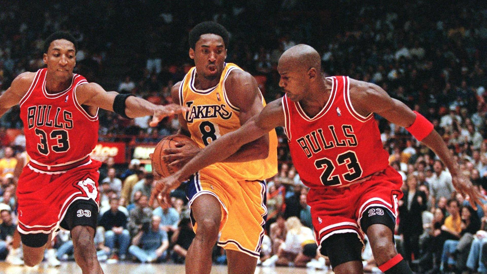 How MJ passed the torch to Kobe