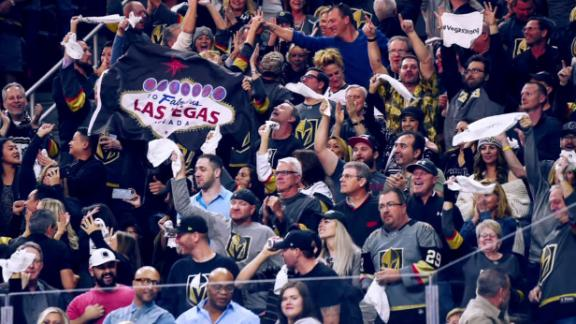Vegas gives Golden Knights a unique home-ice advantage