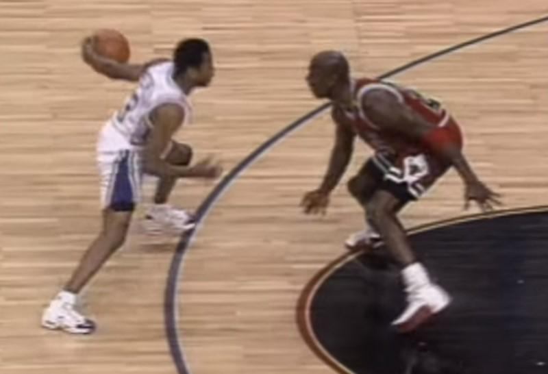 24 years ago today, a rookie AI crossed over MJ