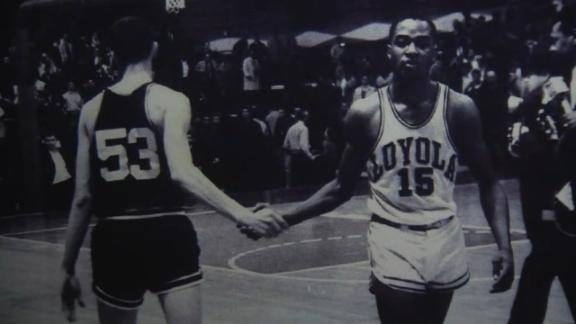 The 1963 Loyola team did more than win a title