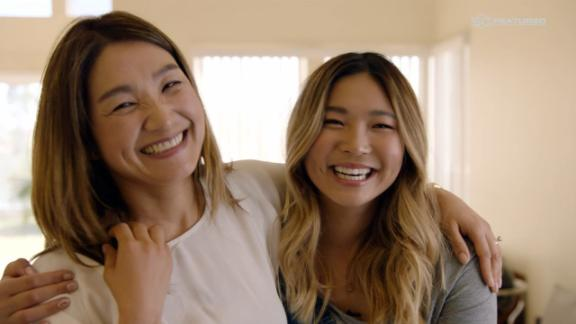 Chloe Kim is appreciative of her mother's sacrifices