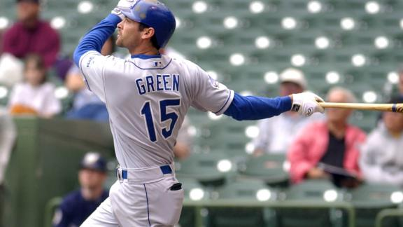 Shawn Green has historic four-homer day