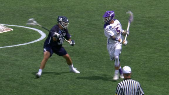 Albany scores after filthy behind-the-back pass - ESPN Video