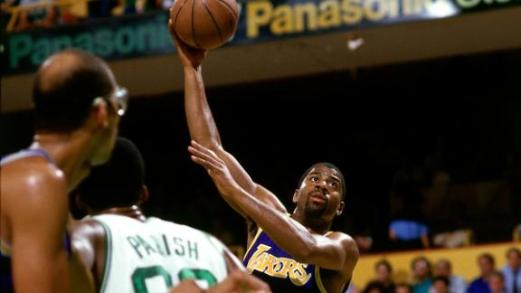 On this date: Magic Johnson's sky hook beats Celtics