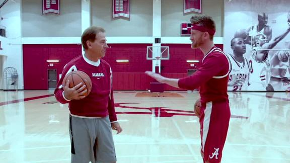 Saban has his own version of the 'N.B.A.'
