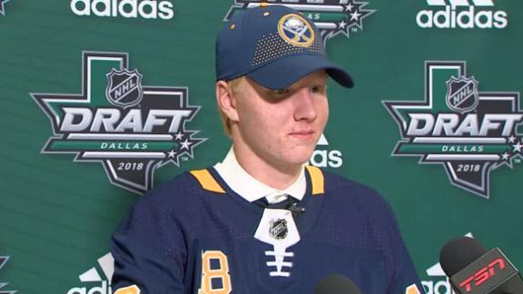 Dahlin happy to call Buffalo home
