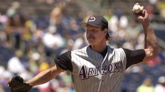 On this date: The Big Unit dominant in relief appearance
